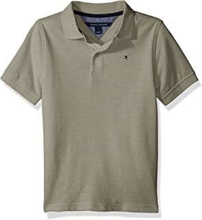 fc63b004ff641 Amazon.com  Tommy Hilfiger Boys  Stretch Ivy Polo  Clothing
