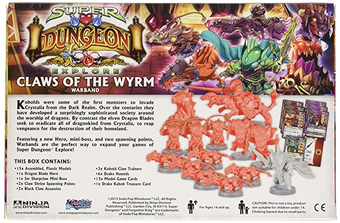 Ninja Division Claws of The Wyrm Warband Game