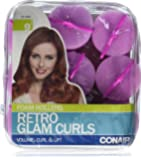 Conair Big Curl Foam Rollers, 9 Count