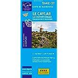 Le Caylar - La Couvertoirade 1 : 25 000: Cirque du bout du monde (Ign Map)