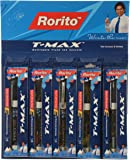 Rorito 'T-Max' Gel Ink Rollerball Pens, Pack of 5 Pens