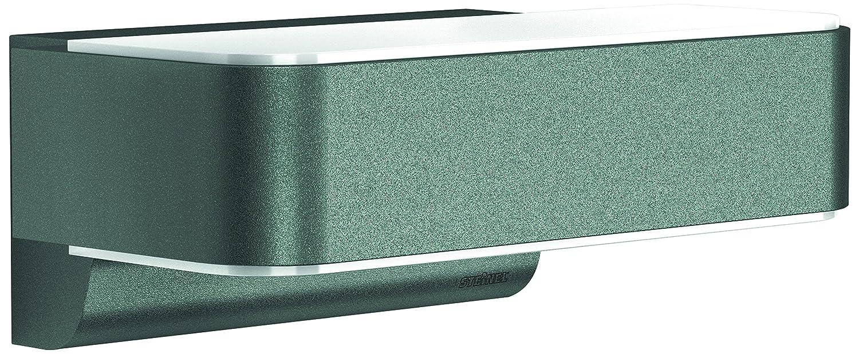 Steinel L 810 iHF LED Up-/Downlight antracita - Lámpara sensor para el exterior con 160° detector de movimiento invisible, Aplique con potencia de 12,5 ...