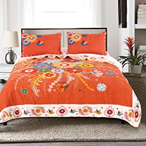 Barefoot Bungalow Topanga Quilt Set, 3-Piece Full/Queen