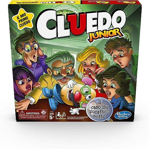 Hasbro Gaming - Cluedo Junior, Il Caso del Giocattolo Rotto...