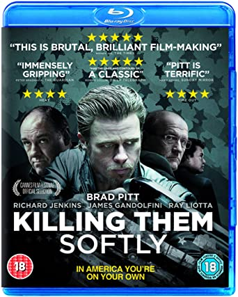 Image result for killing them softly blu ray