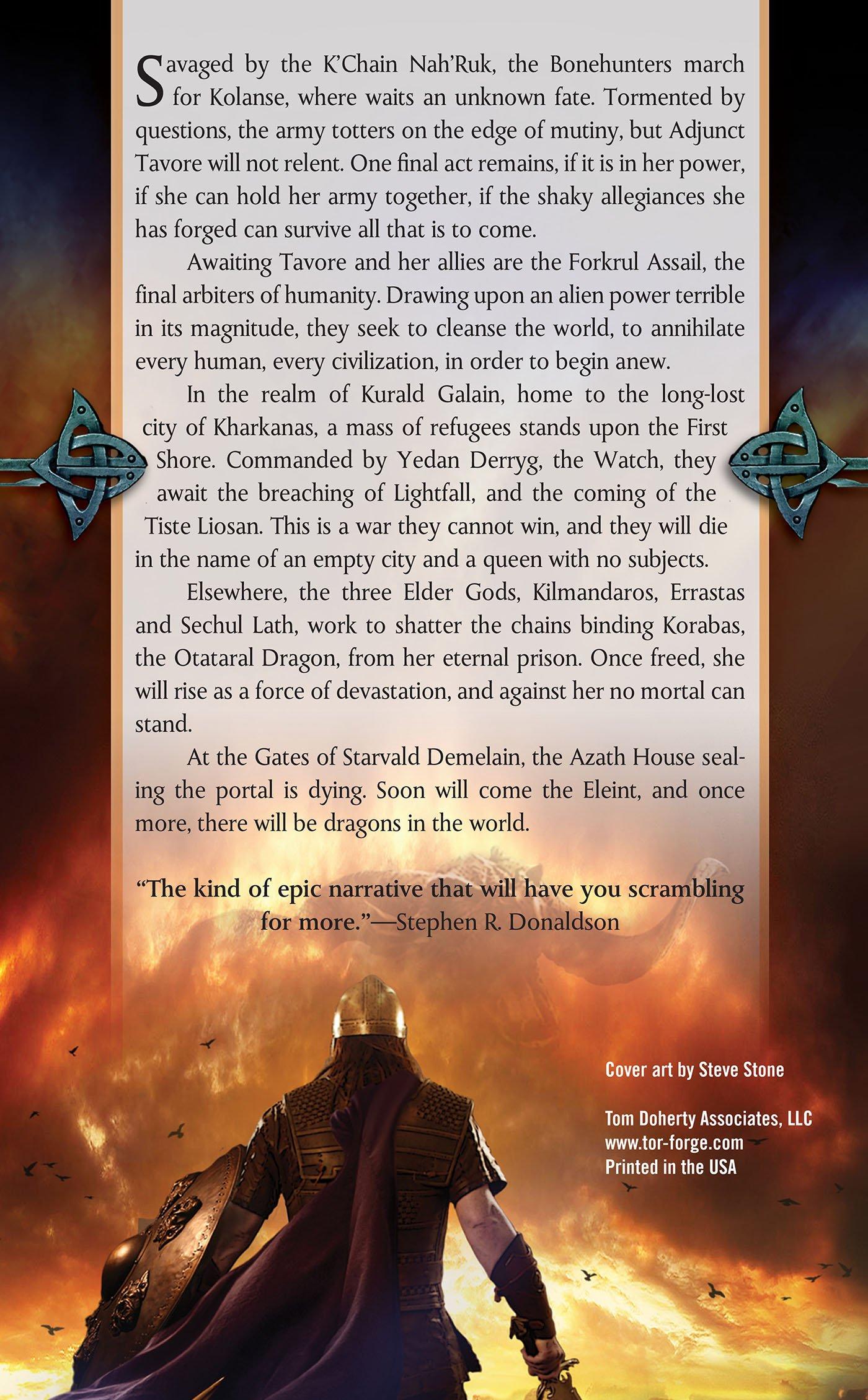 The Crippled God: Book Ten Of The Malazan Book Of The Fallen: Steven  Erikson: 9780765348876: Amazon: Books
