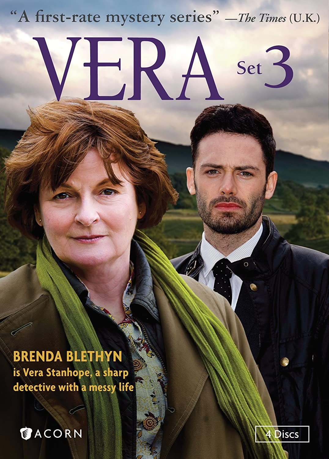 Amazon Com Vera Set 3 Vera Brenda Blethyn David Leon Tom Hutch Jon Morrison Paul Ritter Movies Tv