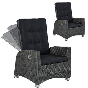 2er Set Barcelona Living Gartensessel Xl Sessel Für Den Garten Oder