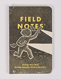 product image for Field Notes Haxley An Illustrated Ruled Story Book and a Sketch Book (3.5x5.5-Inch)