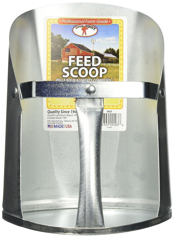 Little Giant 3-Quart Galvanized Feed Scoop