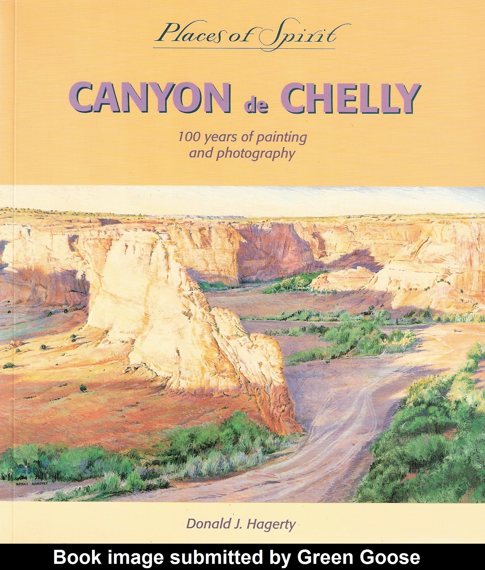 Canyon De Chelly: 100 Years of Painting and Photography (Places of Spirit Series)