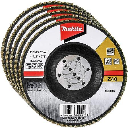 "10 Pack 4.5/"" x 5//8/""-11 XL 60 Grit Zirconia High Density Flap Discs T29 with Hub"