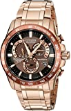 Citizen Men's Eco-Drive Rose Goldtone Perpetual Chrono A-T Watch