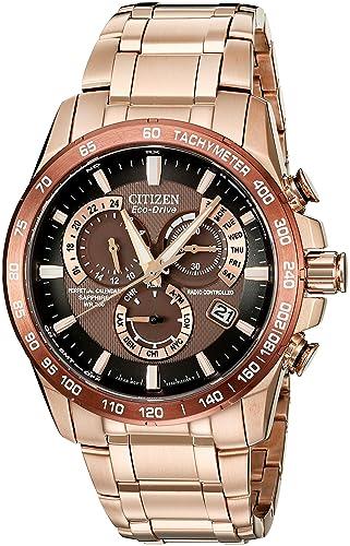 Citizen Watch AT4106-52X - Reloj analógico de Cuarzo para Hombre, Correa de Acero