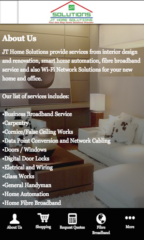 Amazoncom Jt Home Solutions Appstore For Android
