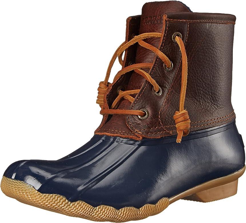 Sperry Women's Saltwater Boot-K, Tan