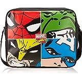 BB Designs Marvel Comics Marvel Face Off Multi Character Messenger Bag
