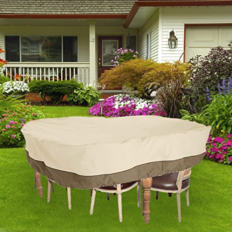 """WIN.MAX 130"""" 84"""" 23"""" Super Large Durable Water Resistant Outdoor  Furniture - Amazon.com : WIN.MAX 130"""