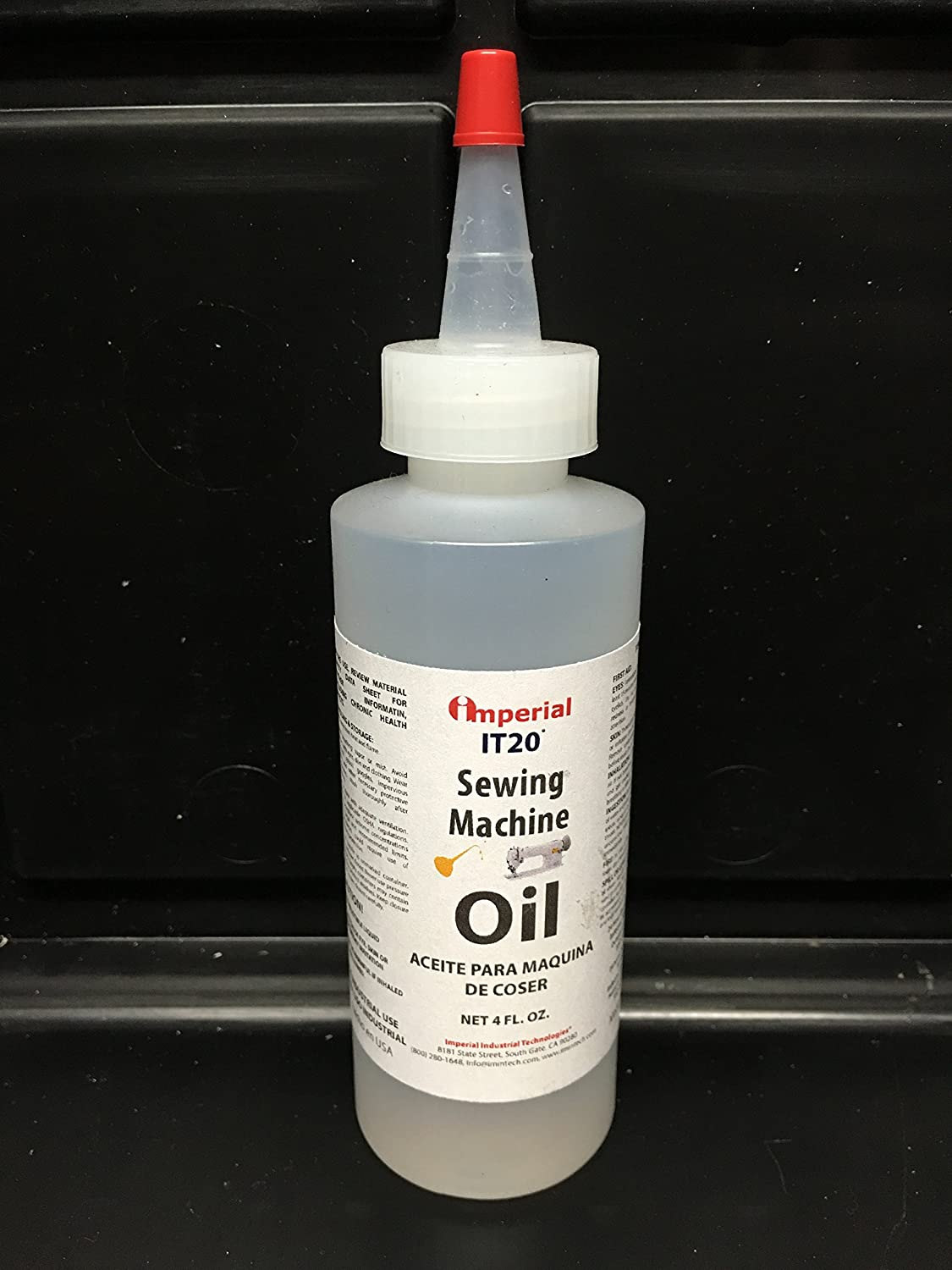 Imperial Sewing Machine Oil IT20 4oz