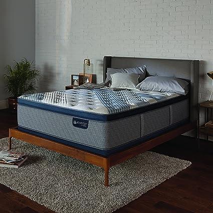 Amazon Com Serta Icomfort 500822753 1050 Icomfort Hybrid 14 Blue