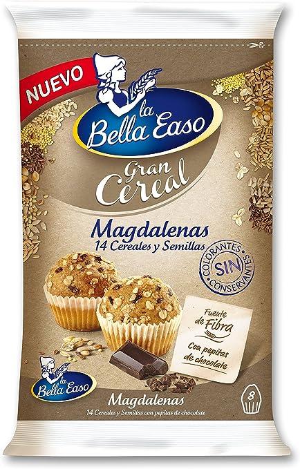 Panrico Magdalenas Gran Cereal - 8 unidades - 232 g: Amazon.es ...