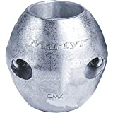 Martyr Anodes, Streamlined Shaft Anodes with Stainless Steel Slotted Head