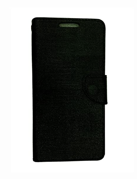 watch 1a08b ccad9 Celson Flip Cover For Micromax Yu Yunique Flip Cover Case - Black