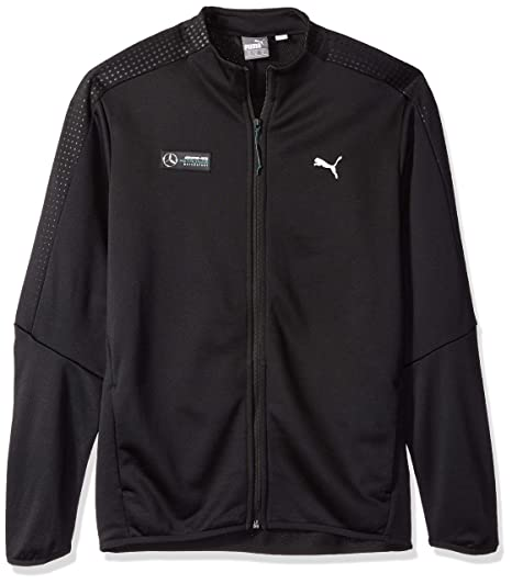 0d2452ab1860 Puma Men s Mercedes Mapm T7 Track Jacket  Amazon.in  Clothing   Accessories