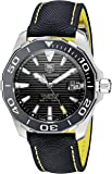 TAG Heuer Men's WAY211A.FC6362 Aquaracr Analog Display Swiss Automatic Black Watch