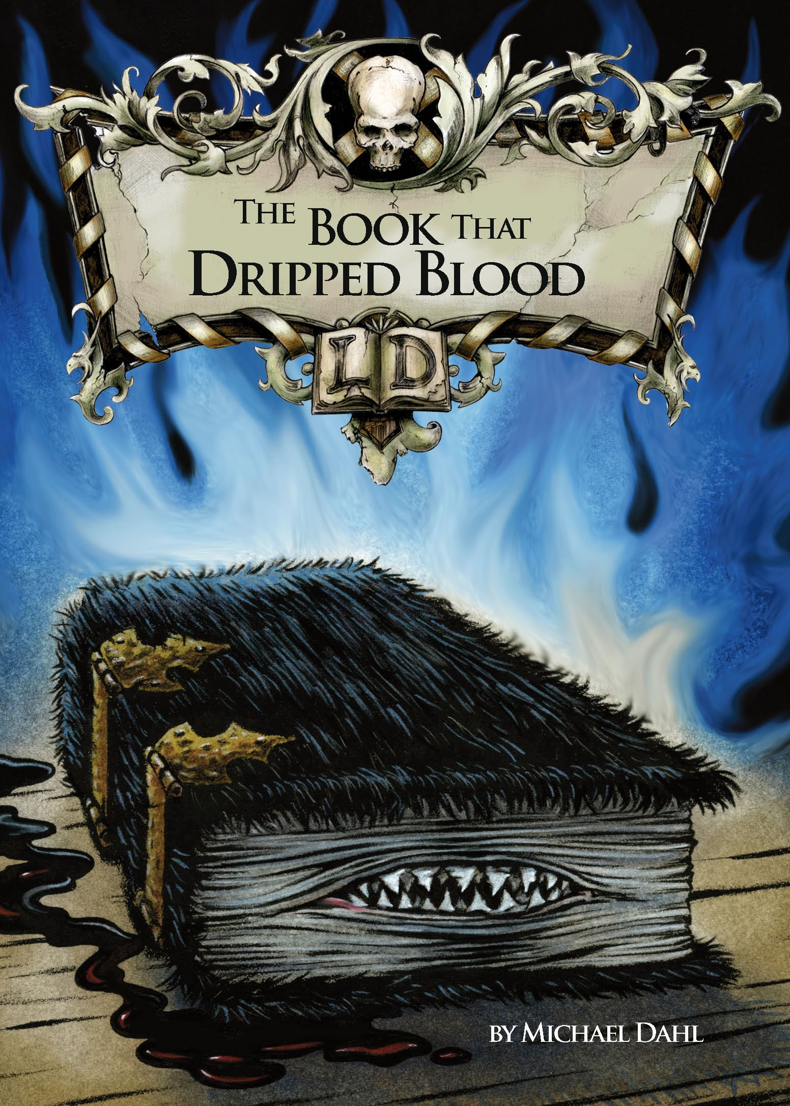 The Book That Dripped Blood. by Michael Dahl (Library of Doom): Dahl,  Michael: 9781406212686: Amazon.com: Books