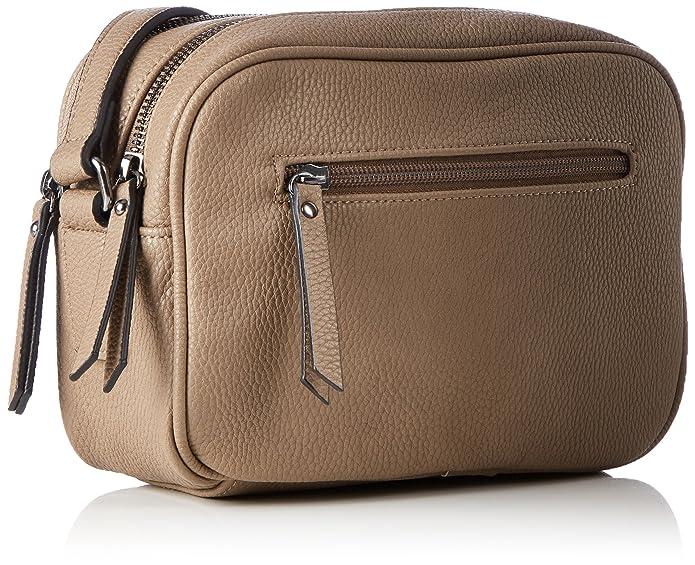 Waterloo, Womens Cross-Body Bag, Beige (Taupe, Titan), 8x15x22 cm (B x H T) Ara