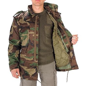 M65 Avec Us Veste Woodland De Vêtements Combat Doublure qaqwgx6p