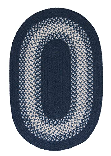 North Ridge Rug, 2 by 4-Feet, Navy