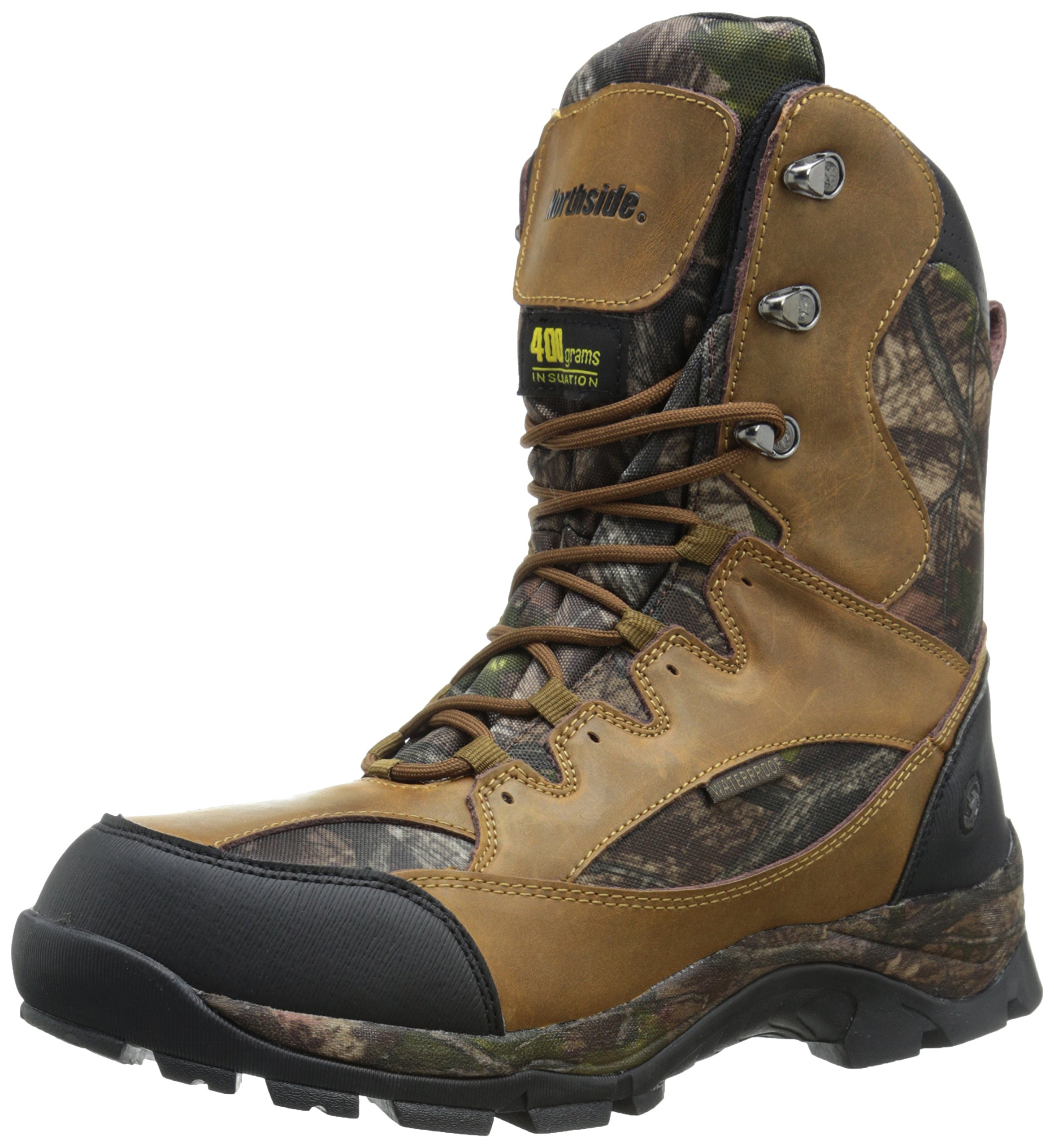 Northside Men's Renegade 400 Hunting Boot, Tan Camo, 8.5 M US