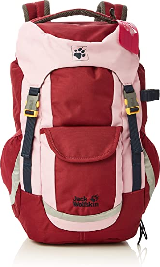 Jack Wolfskin KIDS EXPLORER 20 Backpack, Rhododendron, One size