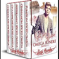 Super Spiced Omega Bundle: Hollydale Omegas Books 1-5 (English Edition)