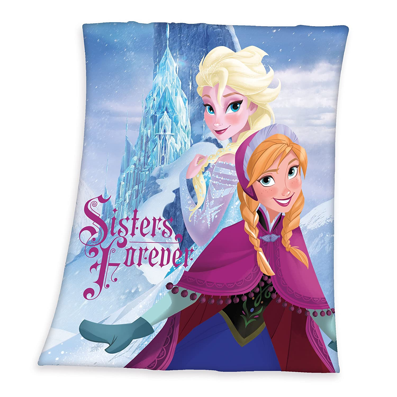 gr/ö/ße Herding 7580033035412 Fleecedecke Disneys Eisk/önigin 130 x 160 cm 100/% Polyester
