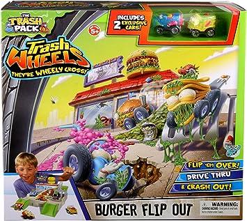 The Trash Pack Trash Wheels Burger Flip Out: Amazon.es: Juguetes y ...