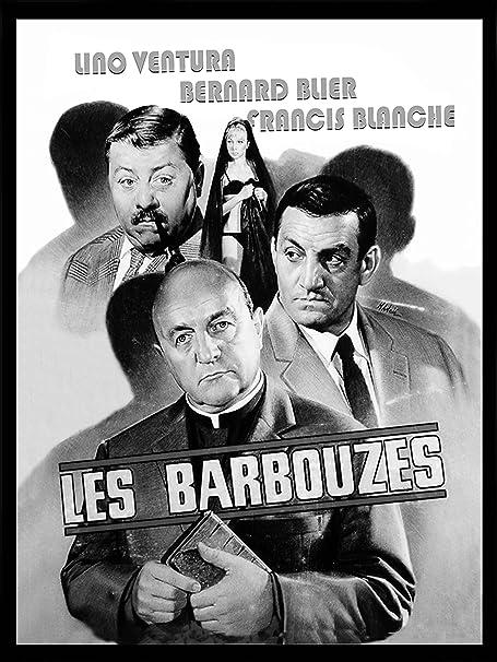 Cr Diffusion Cine46 Les Barbouzes Tableau Affiche De Cinema Noir