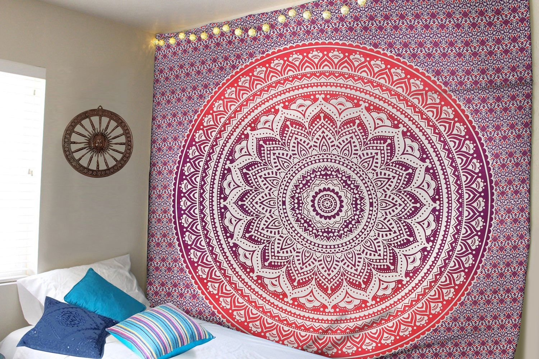 Amazoncom Madhu International Hippie Tapestries Mandala Tapestries