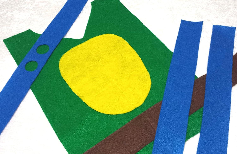Baby Teen Teenage Mutant Ninja Turtle Leonardo Costume Set TMNT Toddler Adult Sizes Kids