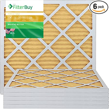 6/ Pack Ofen Filter//Air Filter/  / AFB Platinum Merv 13/  AFB20x20x1M13pk6