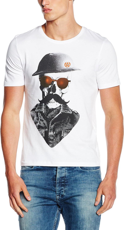 JACK & JONES JORNUAGE TEE SS CREW NECK, Camiseta Hombre ...