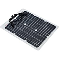 enjoysolar® ETFE - Panel solar semiflexible PERC, celdas para caravana, yate y barco (20 W)