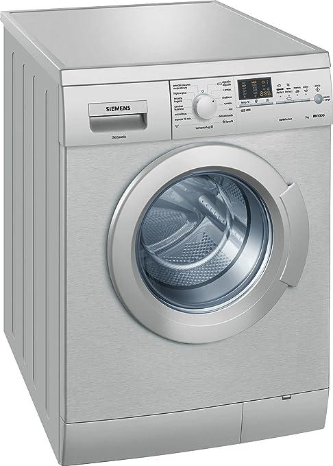 Siemens WM14E47XES - Lavadora De Carga Frontal Wm14E47Xes De 7 Kg ...