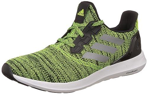 meet 3d460 1f6af Adidas Men s Zeta 1.0 M Syello Cblack Syello Running Shoes - 10 UK
