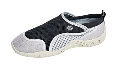 Women's Aqua Water Shoes - Beach Shoes with Velcro closure
