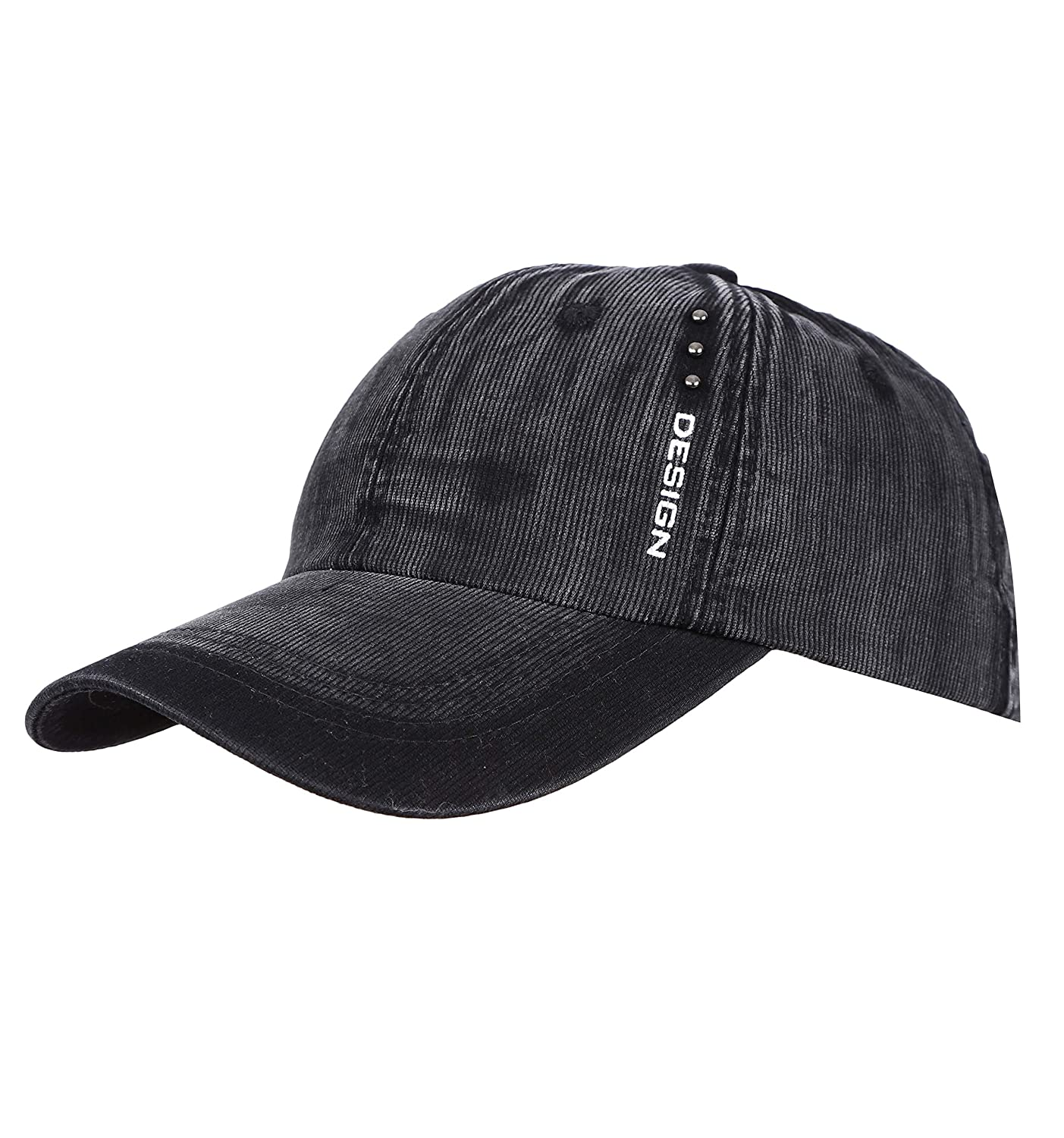 eb687a014 FabSeasons Unisex Washed/Faded Cotton Corduroy Baseball Summer Cap: Amazon. in: Sports, Fitness & Outdoors