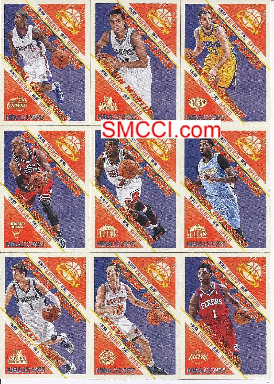 2013 2014 aros Bujías NBA baloncesto serie menta Tarjeta de 24 unidades con Manu Ginobili, Crawford, Nate Robinson Plus: Amazon.es: Deportes y aire libre