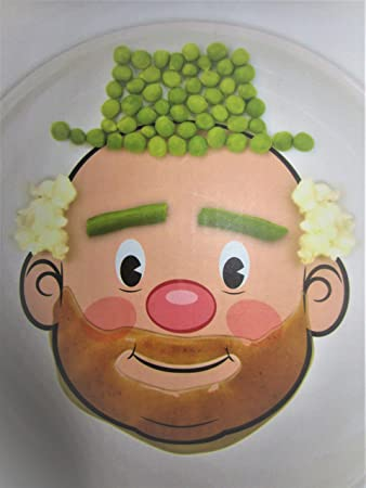 Fred and Friends Food Face Dinner Plate & Amazon.com: Fred and Friends Food Face Dinner Plate: Baby